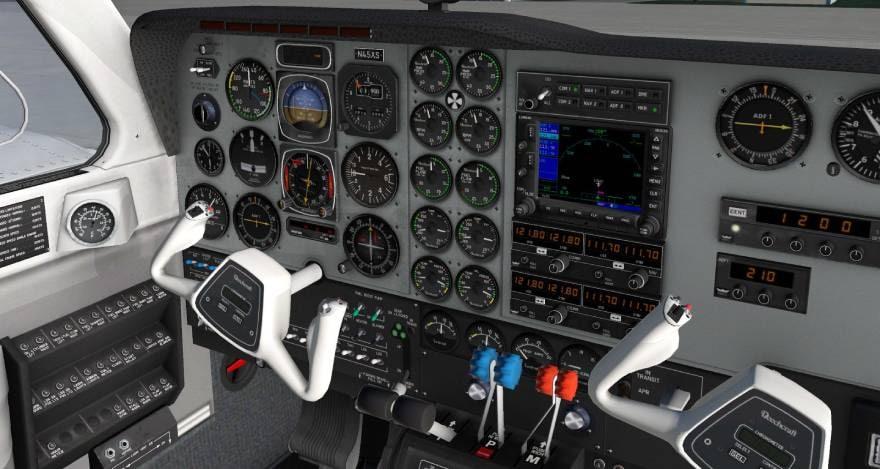 X-Plane 11 panel