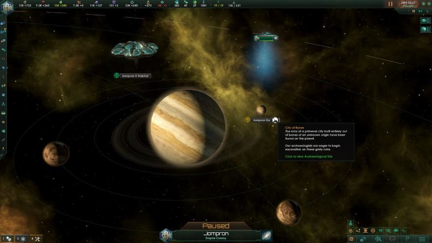 Stellaris: Ancient Relics DLC