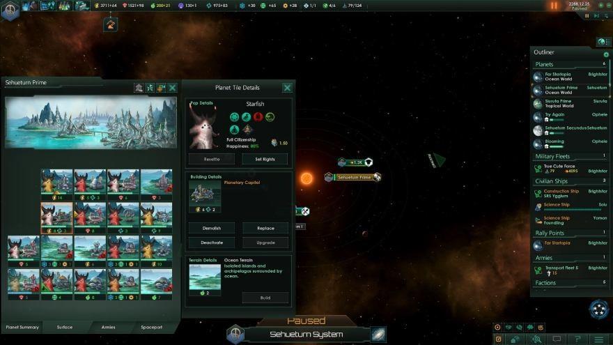 Stellaris: Utopia - planet details
