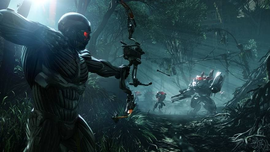 Crysis Trilogy - fight
