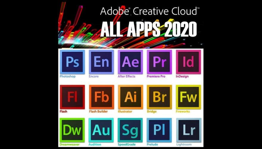 Adobe Creative Cloud - all aps